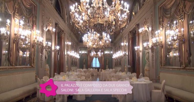 Interieur van het Palazzo Borghese