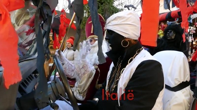 De viering van Sinterklaas in Noord-Italië