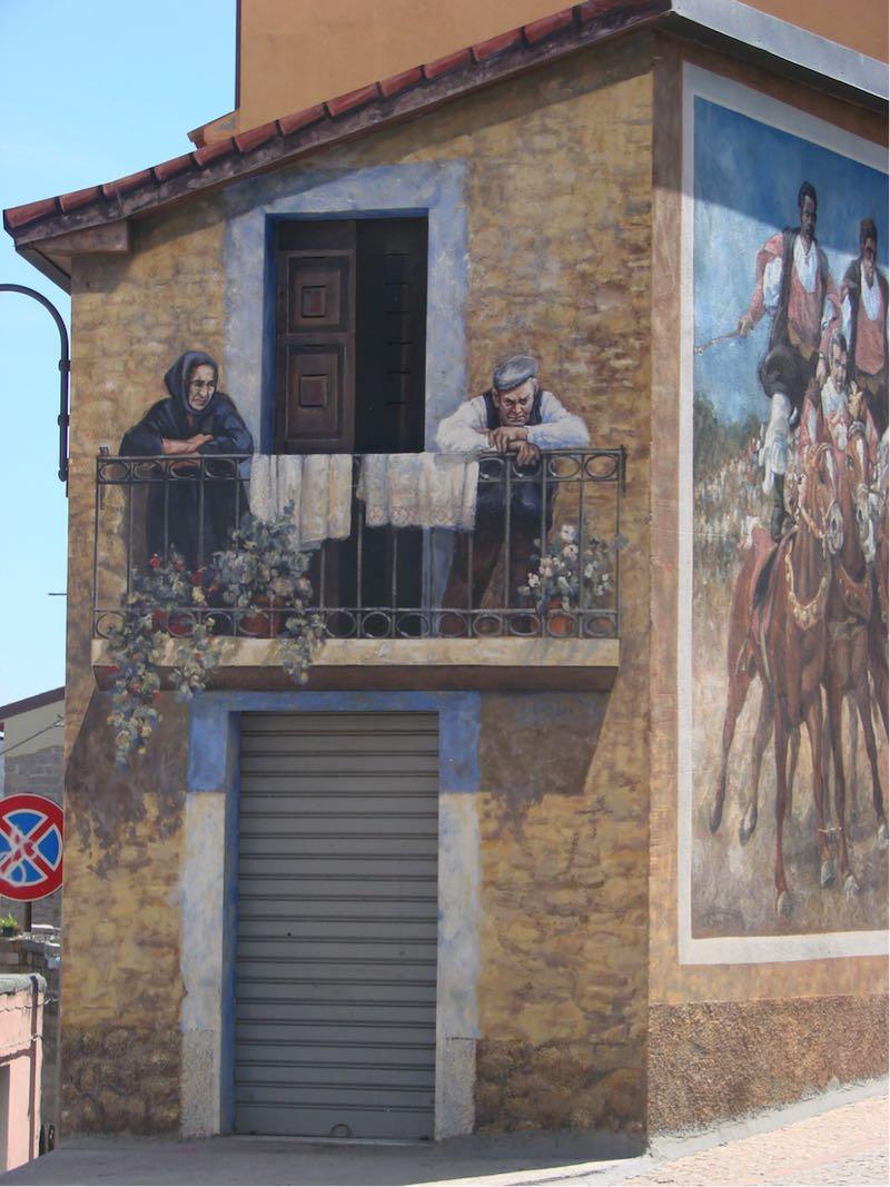 muurschilderingen sardinie