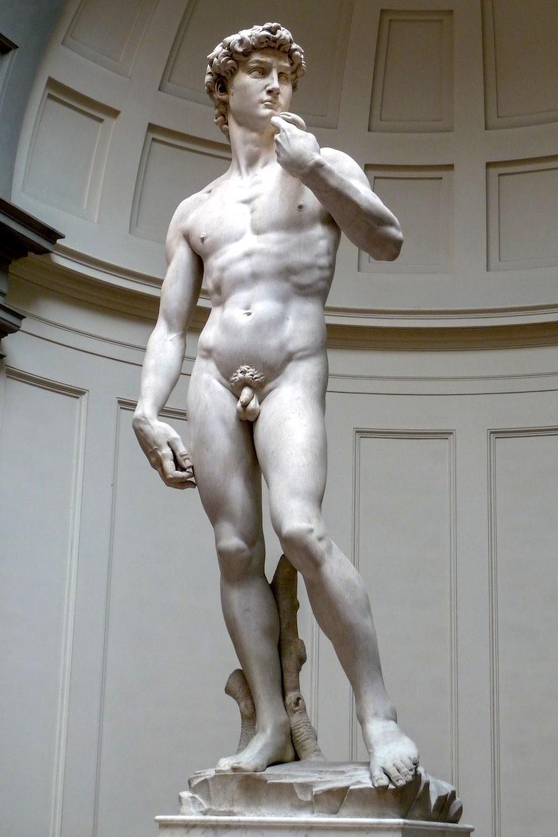 Een wereldberoemd Italiaans kunstwerk: de David van Michelangelo