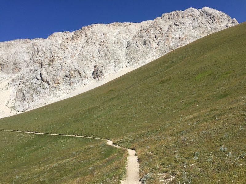 Heerlijk door de bergen lopen