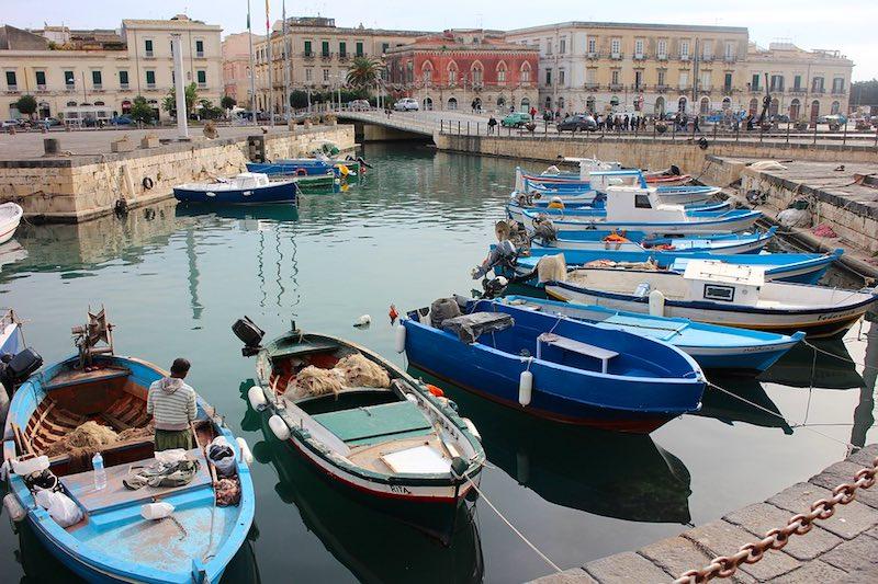 Het historische Syracuse op Sicilië