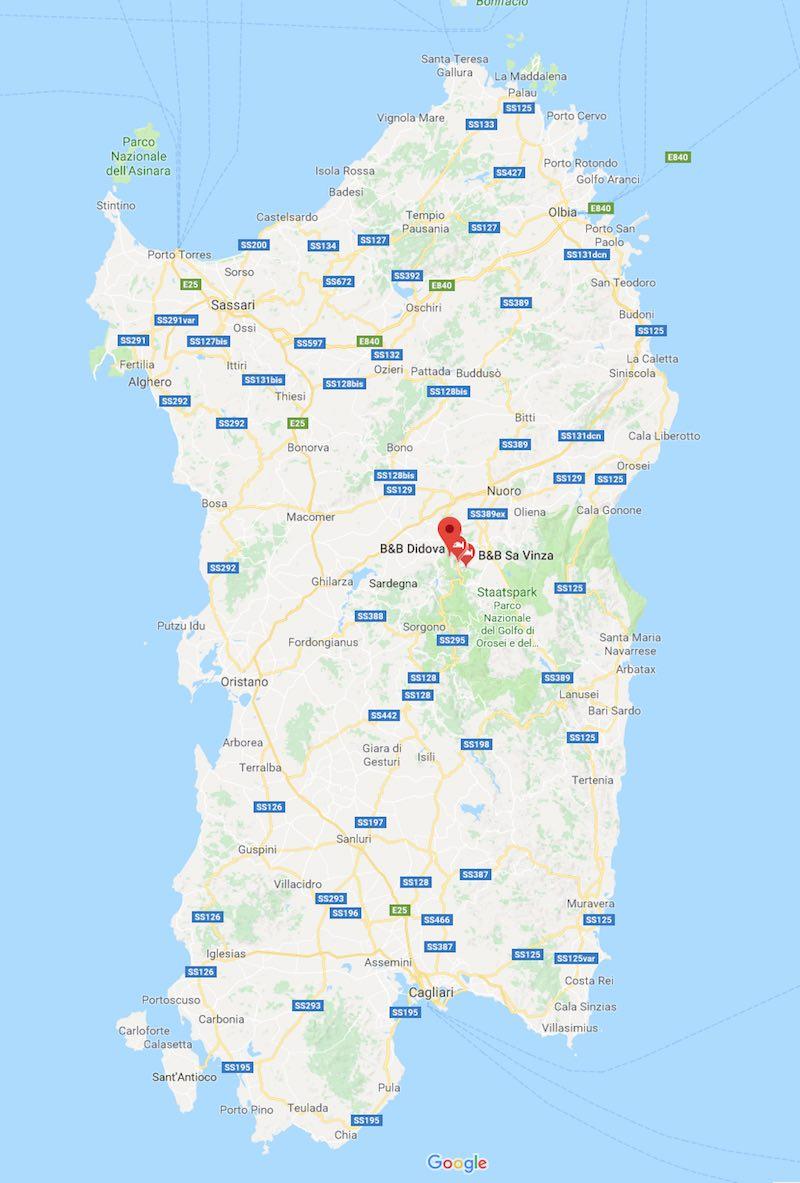 Ollolai op Sardinië