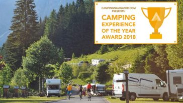 camping of the year award