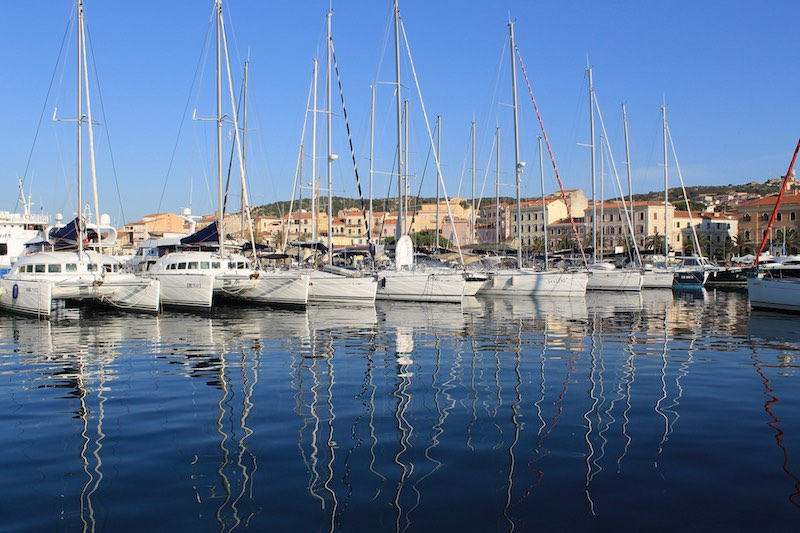 De haven van La Maddalena