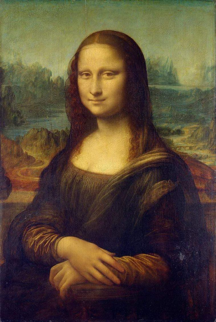 Italiaanse kunstwerken - De Mona Lisa van Leonardo da Vinci