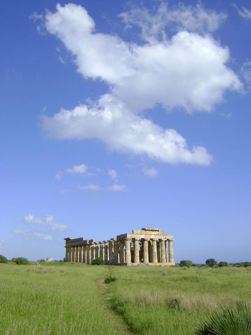 Selinunte op Sicilië