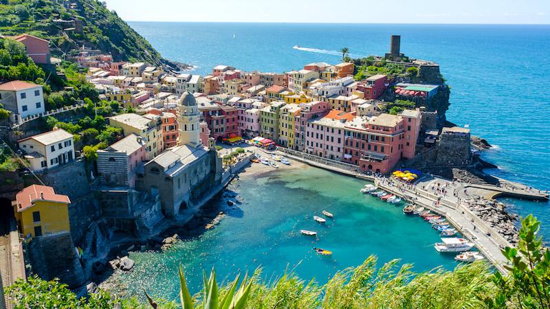 Waarnaartoe in Italië?