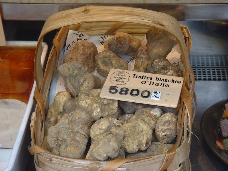 Truffels: een origineel souvenir, maar niet goedkoop
