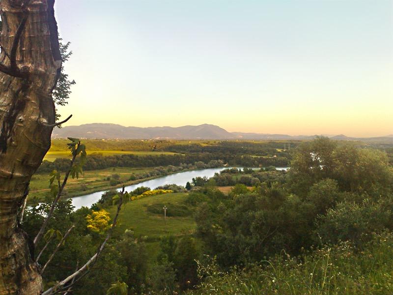 Riserva Tevere Farfa: mooi natuurreservaat langs de oever van de Tiber (foto: Wikimedia)