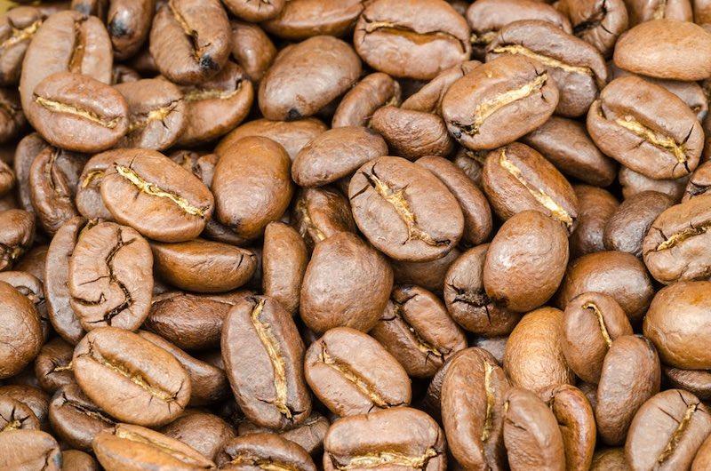 Hoogwaardige koffie van arabicabonen