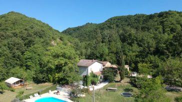 Camping Sensazione met huis en zwembad