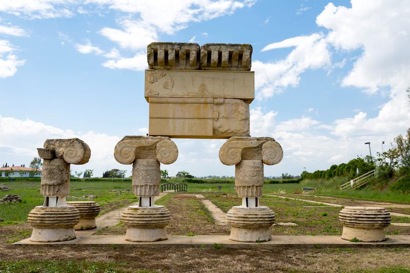 Archeologische restanten in Metaponto