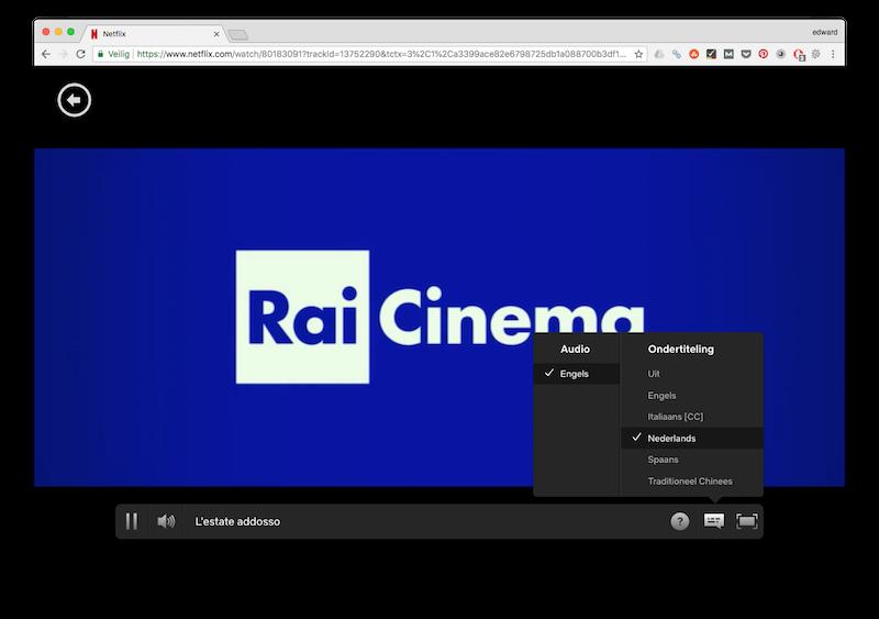 Italiaanse films met Nederlandse ondertiteling