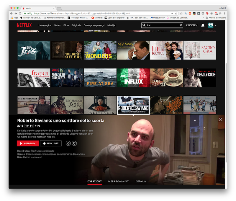 Netflix Italië