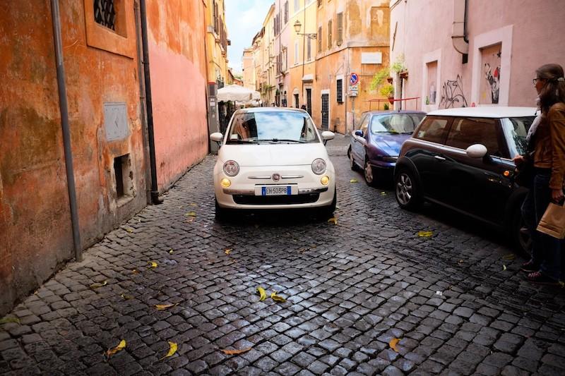 Rome is gemaakt voor de Fiat 500