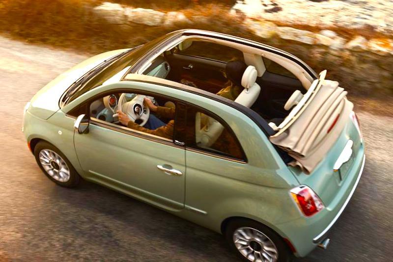 Lekker door Italië toeren in je gehuurde Fiat 500C