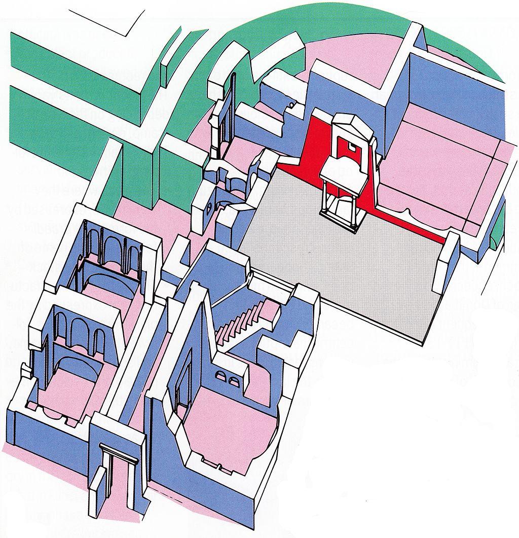 Reconstructie van de Tombe van Petrus