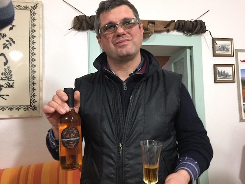 Giovchino Sidi en zijn dessertwijn