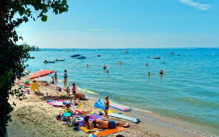 Luxe camping rond het Gardameer