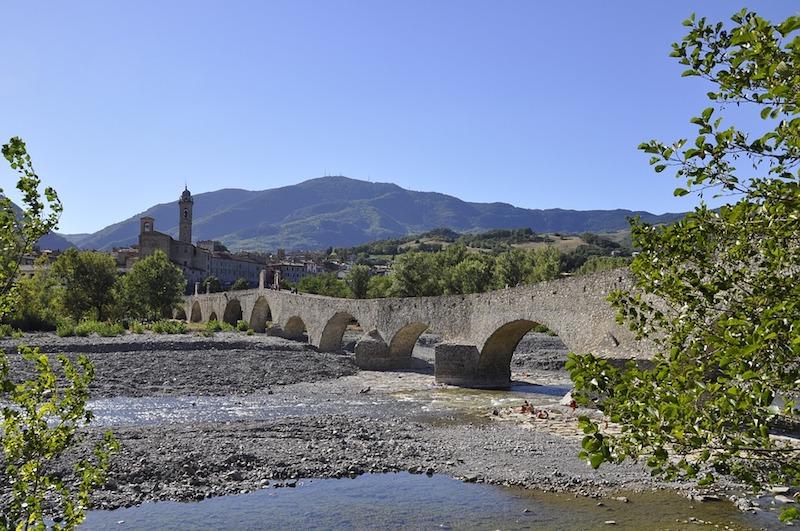 De Romeinse brug in Bobbio