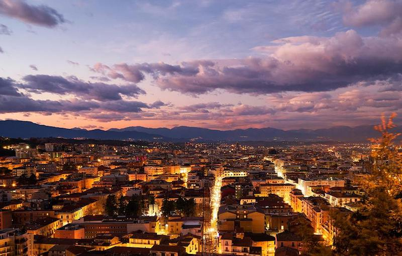Panorama van Cosenza