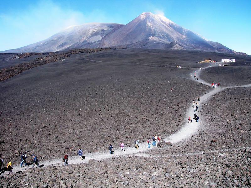De Etna: eindpunt van de Apennijnen
