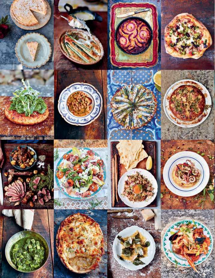 Fotogenieke recepten in Jamies nieuwste kookboek