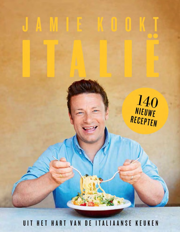 140 nieuwe Italiaanse recepten van Jamie Oliver
