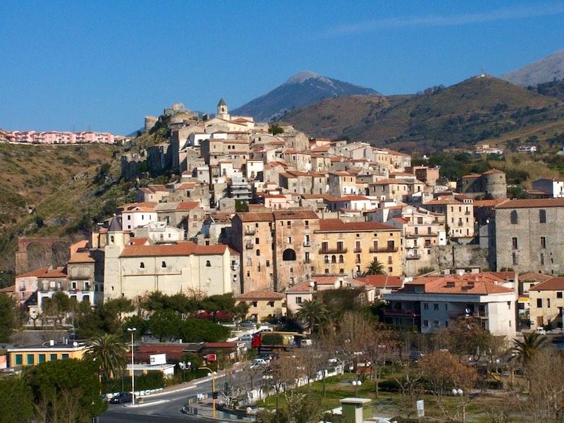 Scalea in de zuidelijke Apennijnen