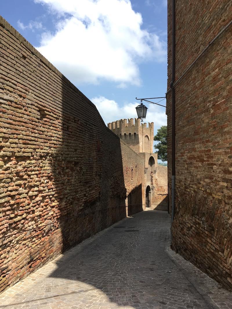 Wandelroute van de stadsmuren