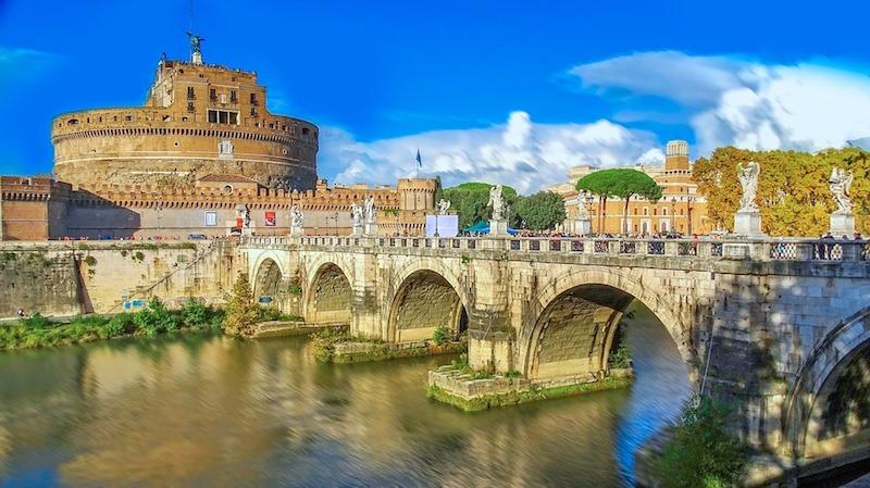 De Engelenburcht in Rome