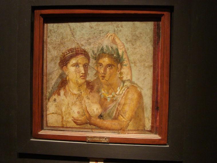 Gabinetto Segreto in het Archeologisch Museum van Napels