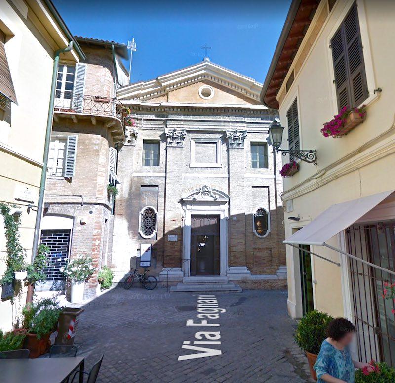 Het mooiste kerkje van Senigallia: Chiesa della Croce