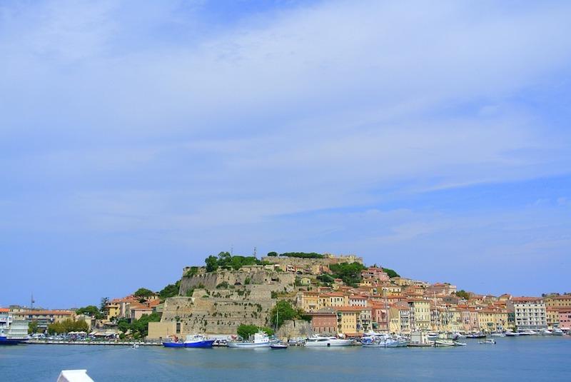 Elba voor de kust van Toscane