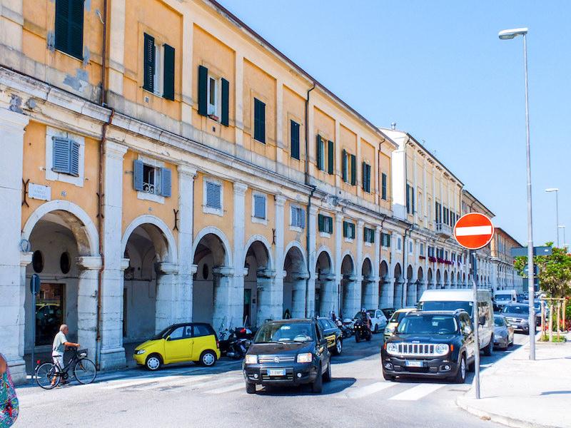 Portici Ercolani in Senigallia