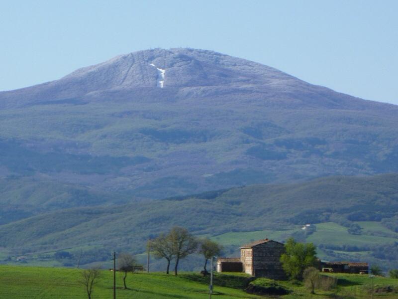 De Monte Amiata, de hoogste berg in Toscane