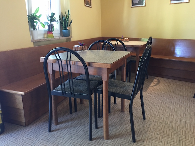 Pim Fortuyns tafel bij Bar da Eddy
