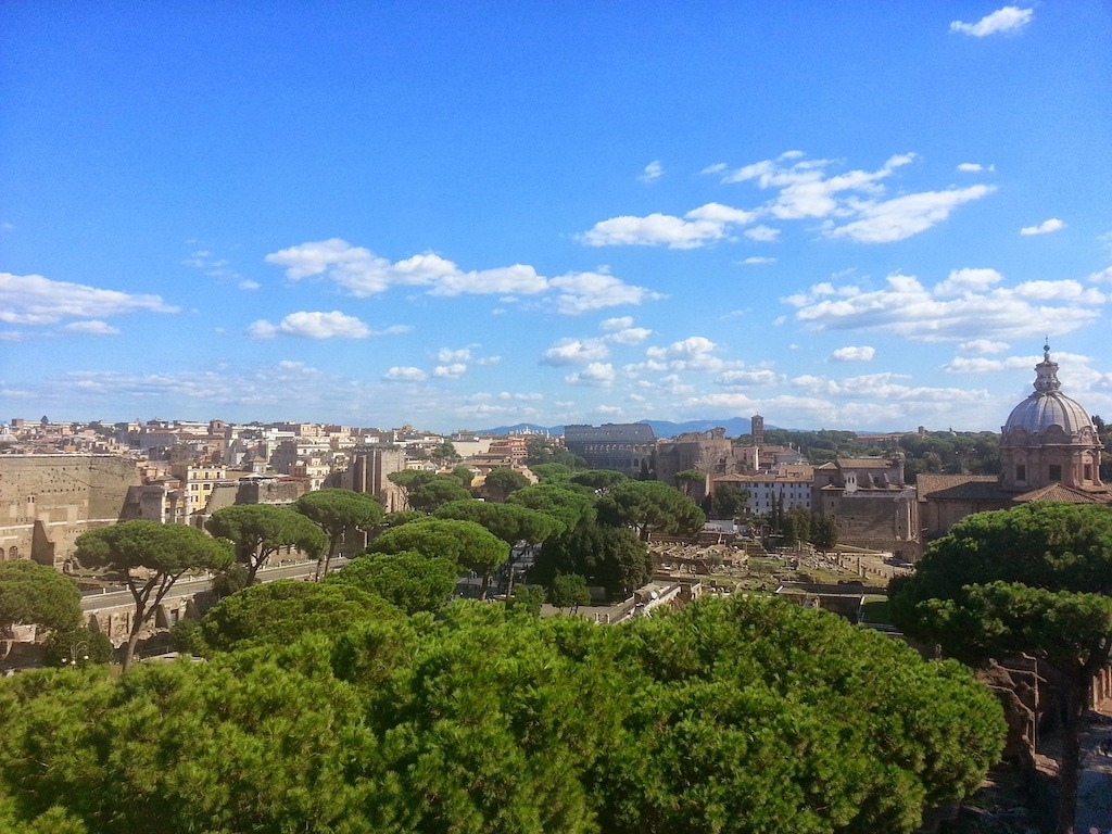 Rome in september
