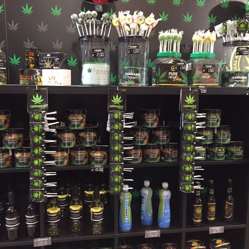 Lolly's, olie, water, crèmes: alles van cannabis light