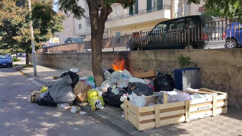 Afvalprobleem in Reggio Calabria