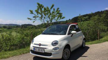 Heb je toevallig een Fiat 500C? Dan heb je de ideale auto voor een roadtrip door Italië!