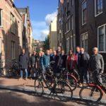 Italianen op de fiets door Nederland