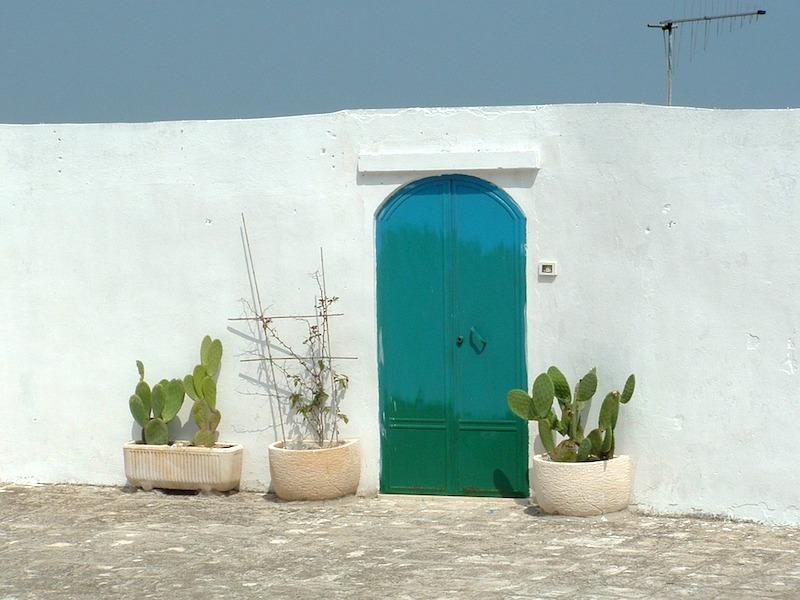 De beroemdste deur van Italië in Ostuni