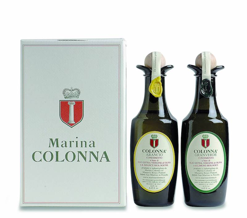 Marina Colonna: eigen merk olijfolie