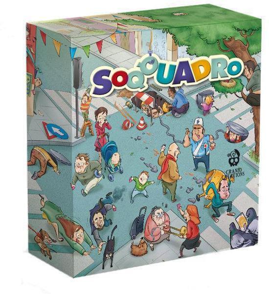 Soqquadro is ook een wanordelijk spel