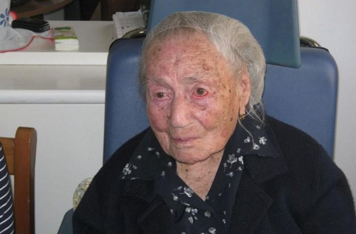 Giuseppina Projetto, een van de oudste mensen ter wereld