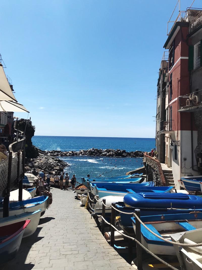 Het haventje van Riomaggiore