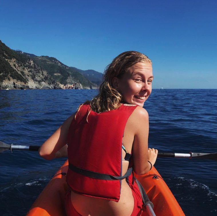 Kanotocht van de Cinque Terre