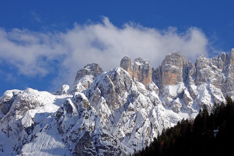 Prachtige vergezichten op de Dolomieten